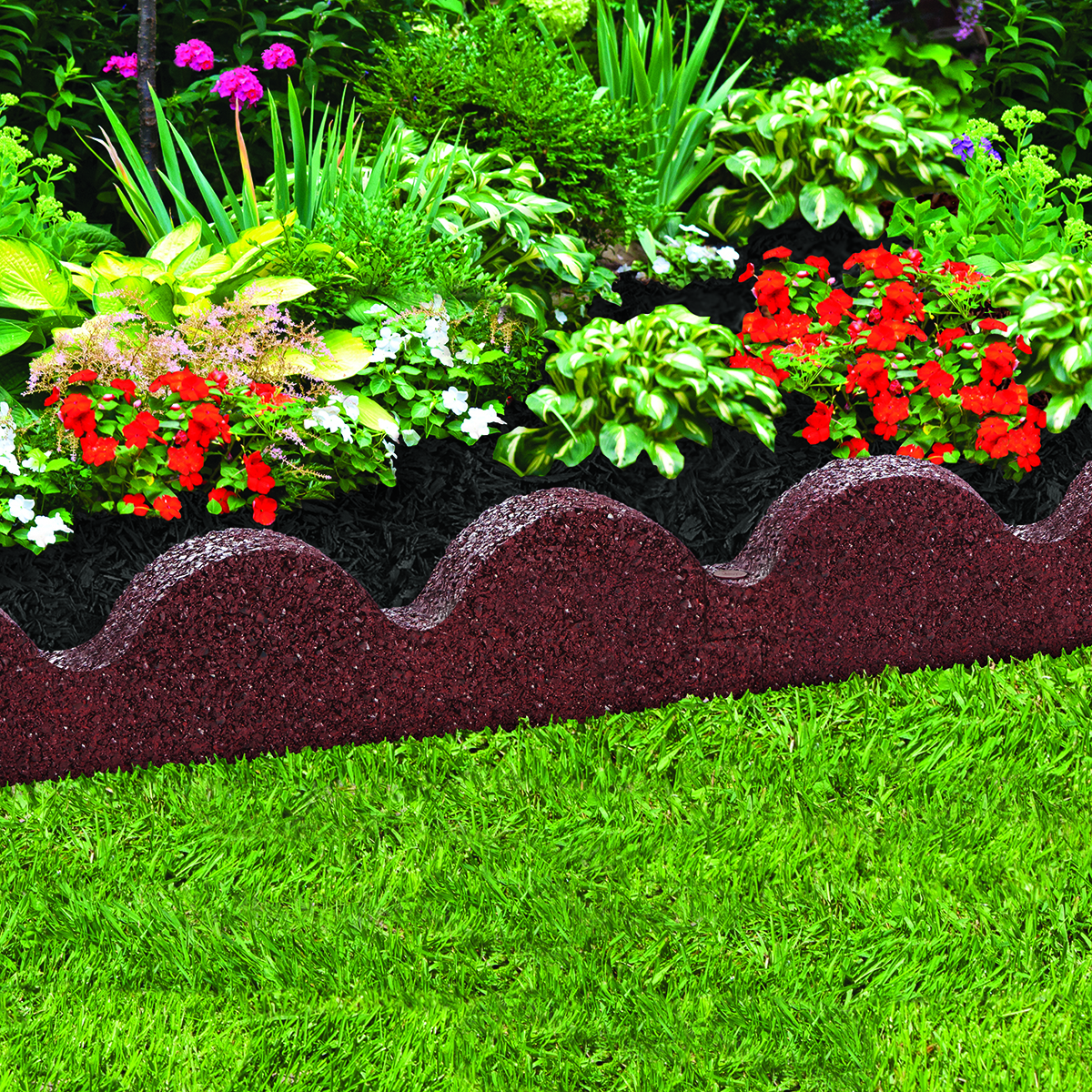 A look at our latest landscape edging