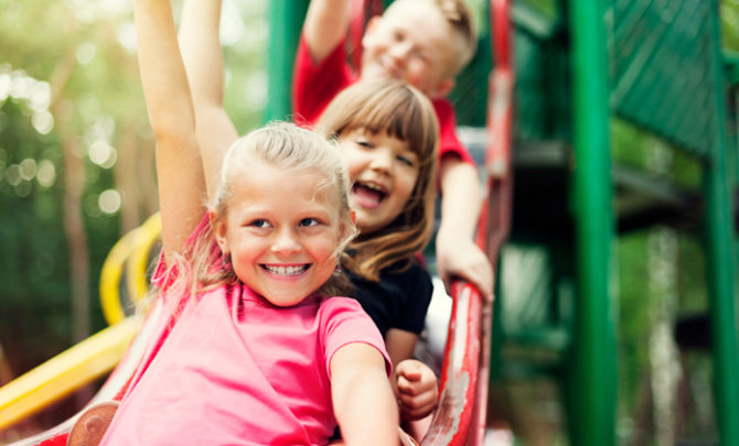 Stay safe on the playground with rubber mulch and these helpful tips!