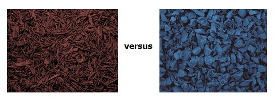 Shredded mulch or nugget – what product is best for your project?