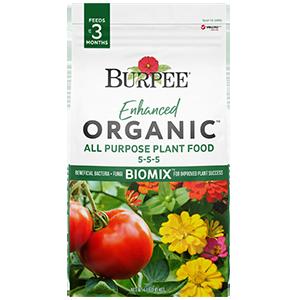 Burpee Enhanced Organic All Purpose Plant Food 5-5-5
