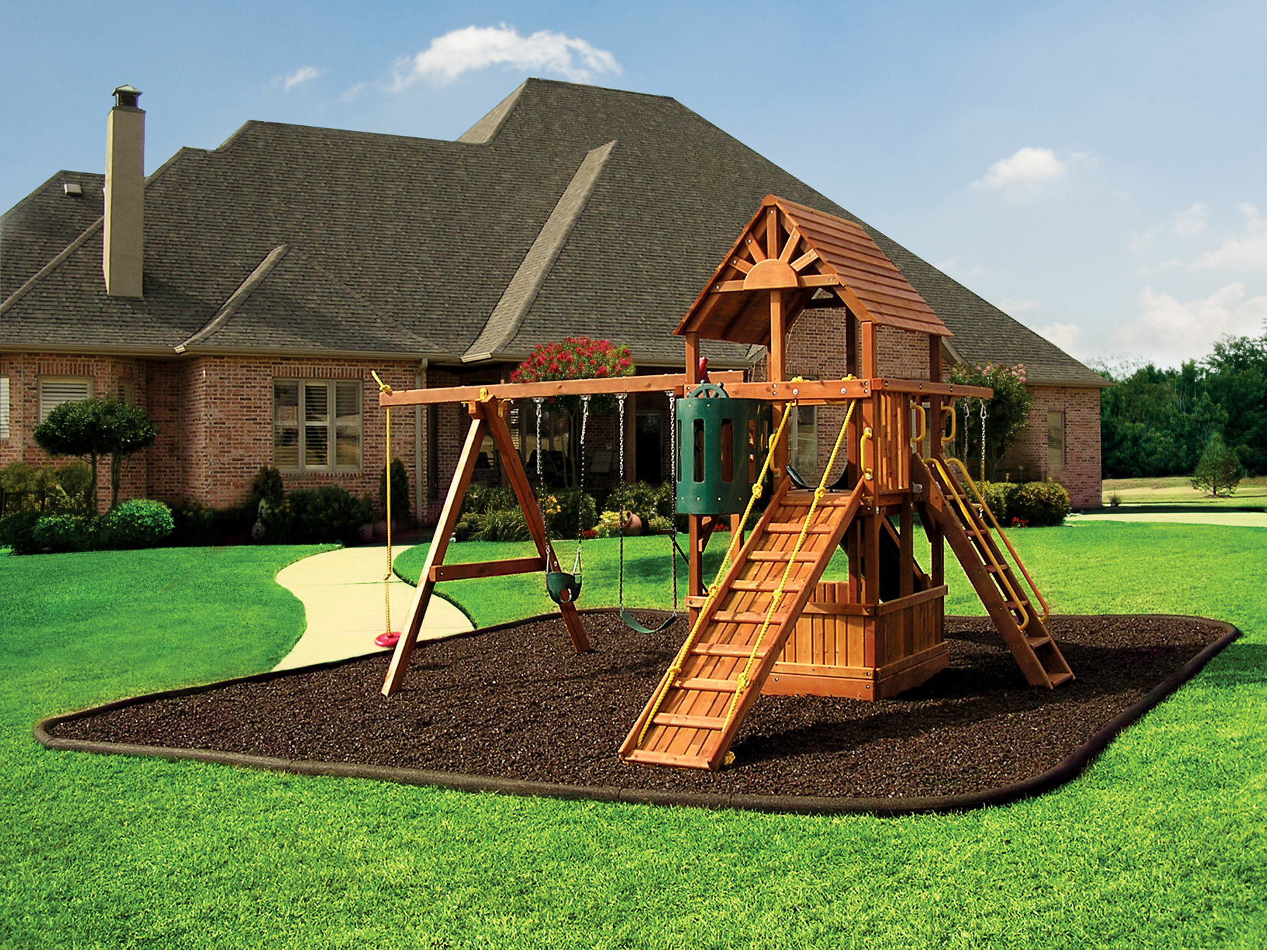 Stay safe on the playground with rubber mulch and these ...